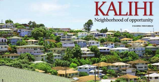 Kalihi Oahu Map KALIHI NEIGHBORHOOD
